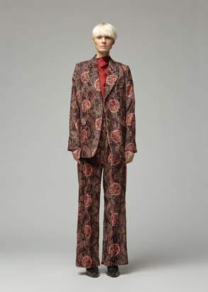 Ann Demeulemeester Paisley Jacket