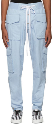 Nahmias Blue Snap Cargo Pants
