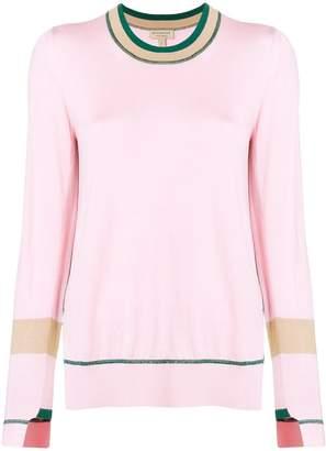 Burberry contrasting trim sweater