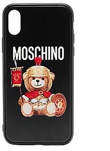 Moschino Women's iPhone XS Gladiator Bear Phone Case