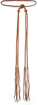 Caravana - Chuuy Braided Leather Belt - Brown