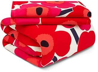 Marimekko Unikko Two-Piece Floral Cotton Duvet Cover Set