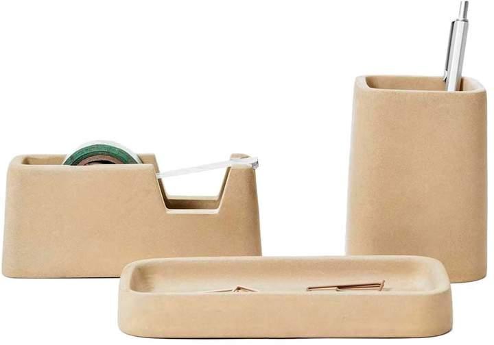 Concrete Desk Accessories Set