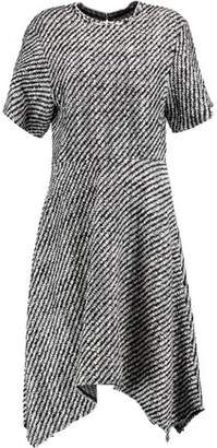 Isabel Marant Ines Asymmetric Wool-Blend Bouclé Dress