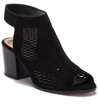 Vince Camuto Lavette Leather Block Heel Sandal (Women)
