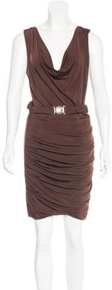 Twin.Set Belted Bodycon Dress $75 thestylecure.com
