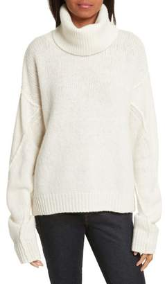 Tory Burch Eva Removable Turtleneck Sweater