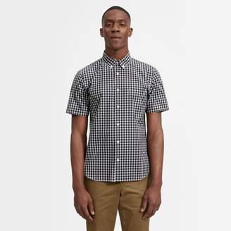 Everlane The Cotton Short-Sleeve Slim Fit Shirt