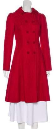 Dolce & Gabbana Textured Knee-Length Coat