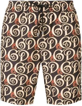Dolce & Gabbana logo drawstring swim shorts
