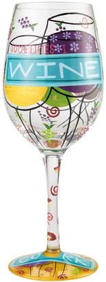 Enesco Lolita Sometimes I Wine Wine Glass