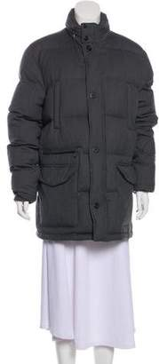 Brooks Brothers Quilted Down Puffer Coat