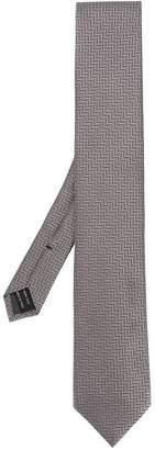 Tom Ford zigzag jacquard tie