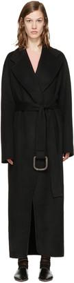 Acne Studios Black Lova Doublé Coat $1,550 thestylecure.com