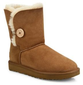 UGG Classic Bailey Short Button Boots $170 thestylecure.com