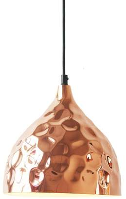 NOra Copper Hammered Pendant Light