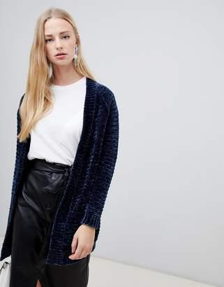 Vero Moda Chenille Knitted Cardigan
