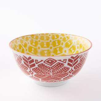 "west elm Folk Pad Printed 7"" Serving Bowls"