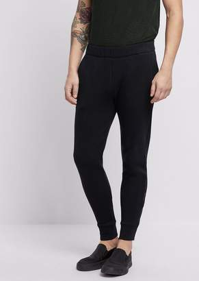 Emporio Armani Superlight Scuba Fabric Jogging Pants