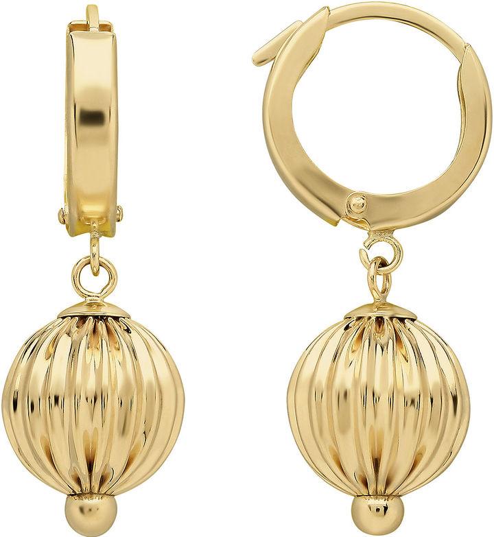 FINE JEWELRY Infinite Gold 14K Yellow Gold Ball Drop Earrings