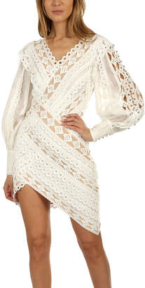 Zimmermann Moncur Studded Mini Dress
