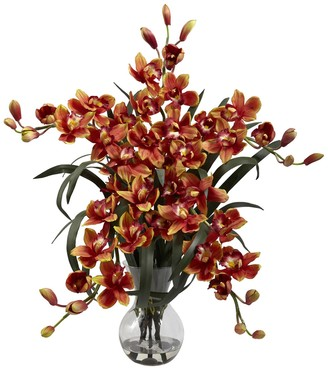 Nearly Natural nearly natural Large Cymbidium Floral Arrangement