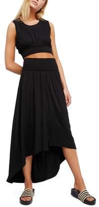 Free People Morningside Crop Top & High/Low Skirt