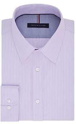 "Tommy Hilfiger Men's Long Sleeve Button Down Shirt,17"" Neck 34""-35"""