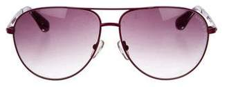Marc by Marc Jacobs Aviator Gradient Sunglasses