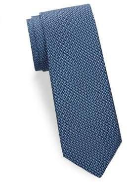 Large Print Silk Tie
