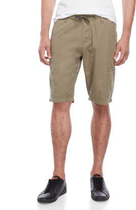 Buffalo David Bitton Drawstring Waist Ripstop Shorts