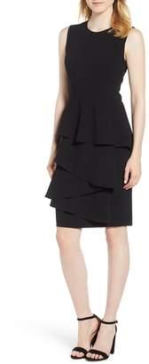 Anne Klein Ruffle Front Dress