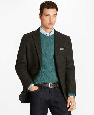 Brooks Brothers Madison Fit BrooksTweed Crowsfoot Sport Coat