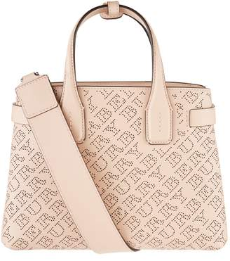 Burberry Small Perforated Logo Banner Bag