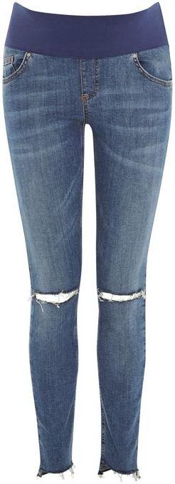 TopshopTopshop Maternity step hem mdt jamie jeans