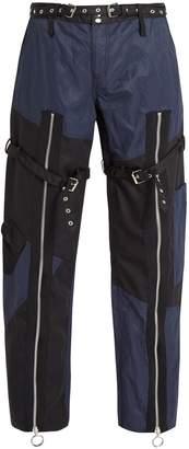 Marques Almeida MARQUES'ALMEIDA Patchwork twill trousers