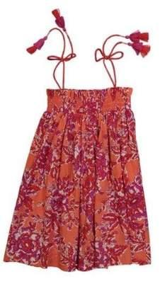Lison Paris Uma Dress Coral