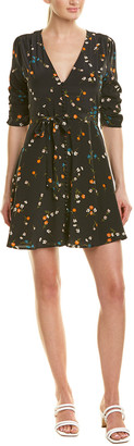 Nicholas Vintage Daisy Silk Mini Dress