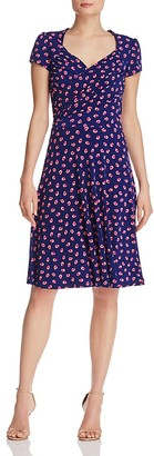 Leota Sweetheart Printed Dress $148 thestylecure.com