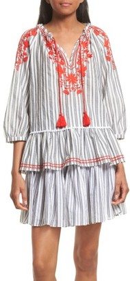 Women's Kate Spade New York Embroidered Peasant Top $228 thestylecure.com