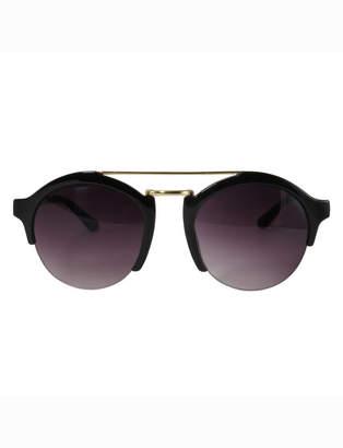 Retro Brow Bar Sunglasses