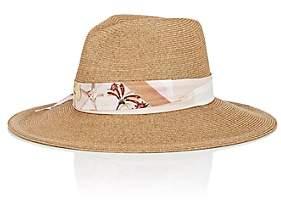 Albertus Swanepoel Women's Vanessa Toyo Straw Hat-Beige, Tan