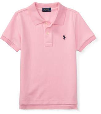 Ralph Lauren Childrenswear Short-Sleeve Logo Embroidery Polo Shirt, Size 2-3