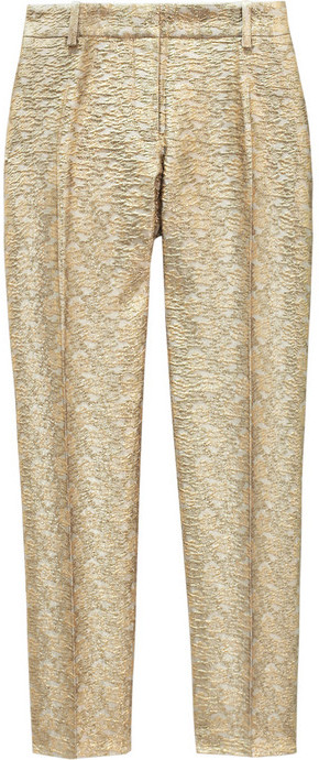 Paul & Joe Sister Hector brocade straight-leg pants