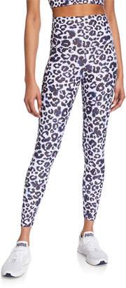 Beach Riot Piper High-Waist Leopard-Print Leggings