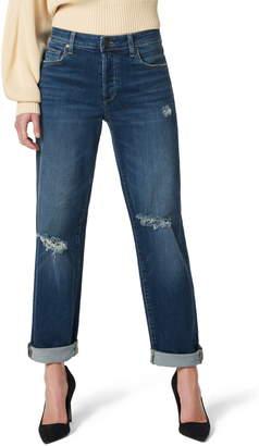 Joe's Jeans The Niki Ripped Cuff Boyfriend Jeans