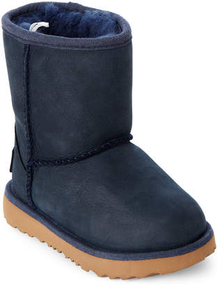 UGG Toddler Girls) Navy Classic Short II Boots