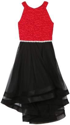Speechless Girls 7-16 Jeweled Bodice Tulle Skirt Dress