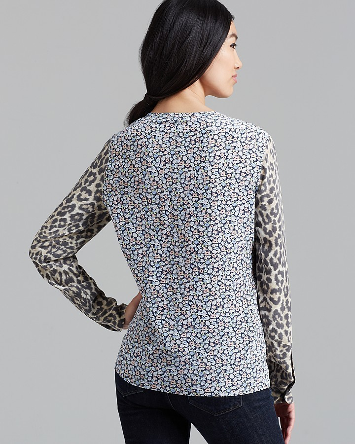 Equipment Top - Liam Engineered Untamed Leopard