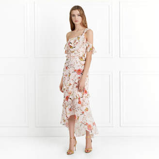 Free Shipping At Rachel Zoe Jillian Cactus Flower Printed Midi Dress
